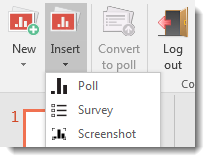 insert poll everywhere polls to powerpoint pc tips and tricks